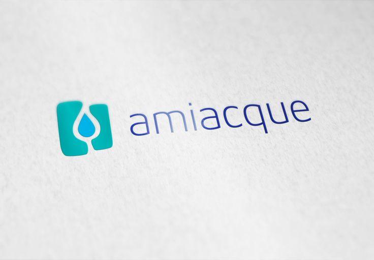 Amiacque brand - Letterpress