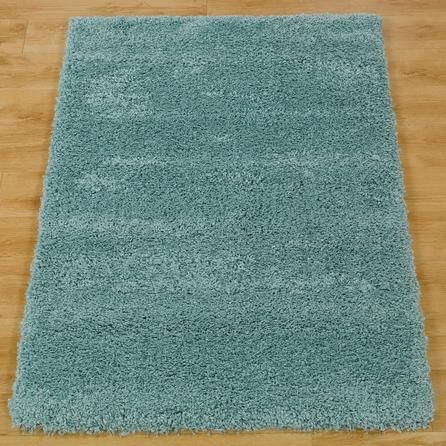 Slumber Rug | Dunelm - duck egg blue, medium size