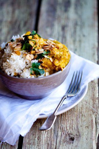 Nigella Lawson's Mughlai Chicken..gonna try this with my fake chicken