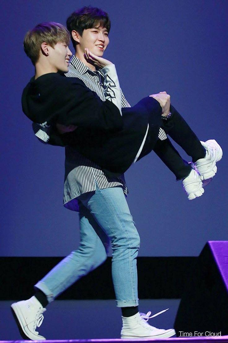 Ha sungwoon and Kim jaehwan