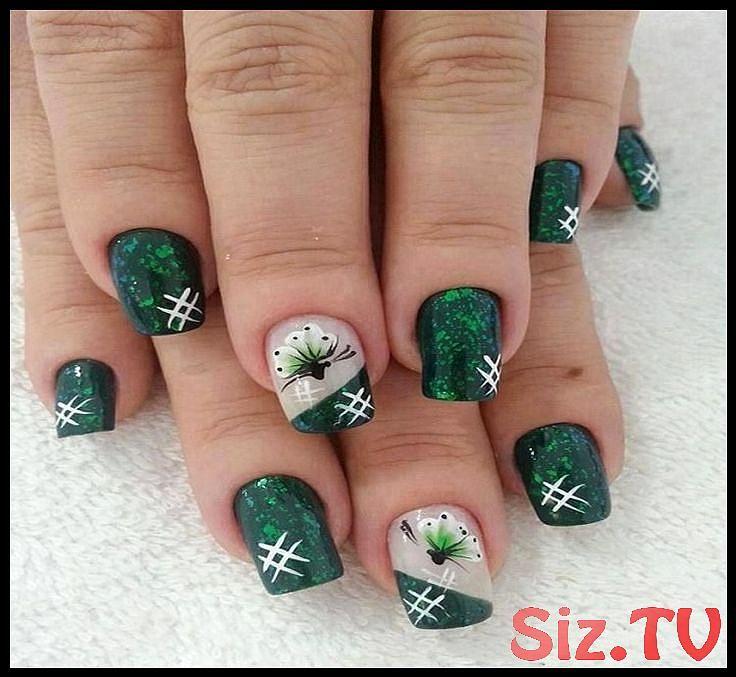 30 tolle grüne Nail Art Designs Ideen Trends 30 tolle grüne Nail Art Desig …