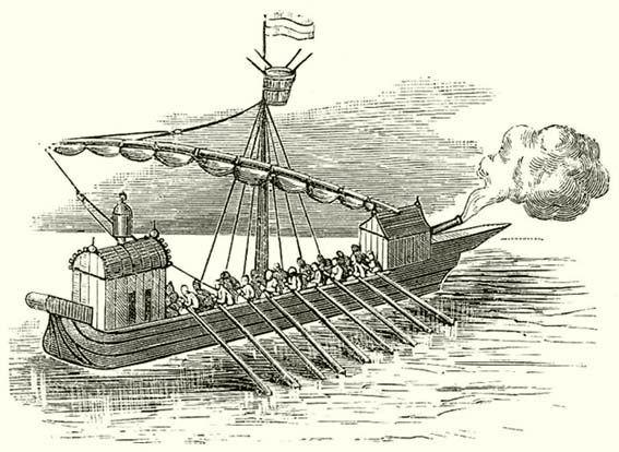the sloop, river