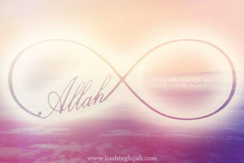 Islamic Daily: Allah is infinite. | © www.hashtaghijab.com