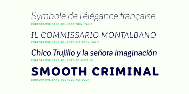 Corporative Sans Rounded - Webfont & Desktop font « MyFonts