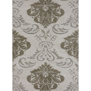 Jullian Ivory Shag Rug (7'7 x 10'6) | Overstock.com Shopping - The Best Deals on 7x9 - 10x14 Rugs
