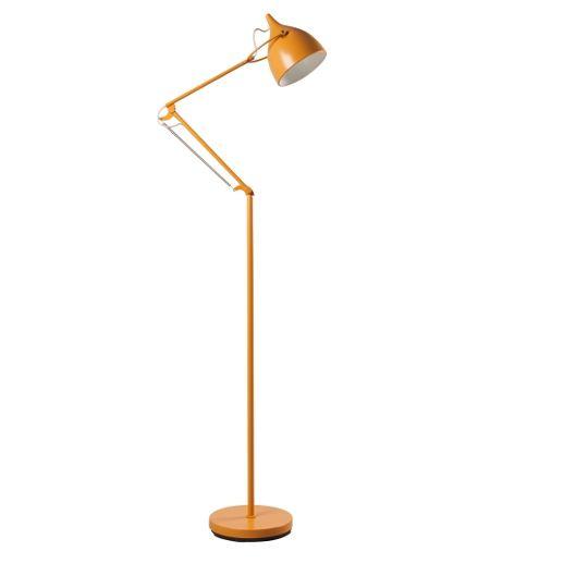 Zuiver: Lampa podłogowa żółta Reader Matt