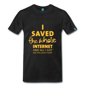 Internet saviour T-Shirt ~ 1850