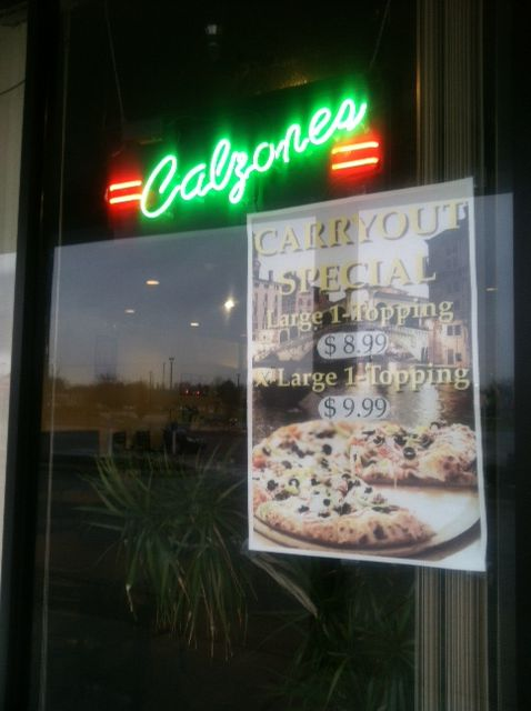 Have you had a calzone? They're delicious!