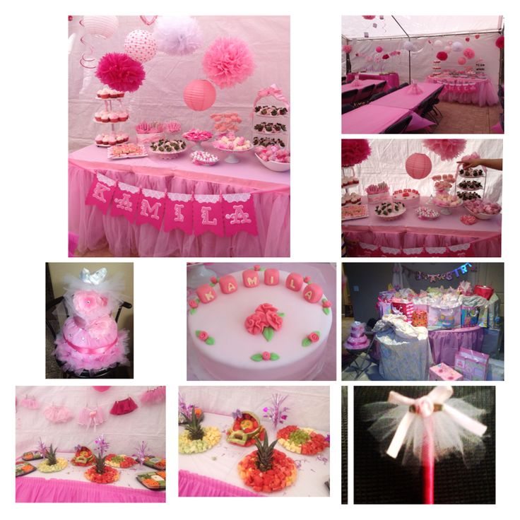 tutu theme party | Pretty in Pink Themed Party | Pinterest ...