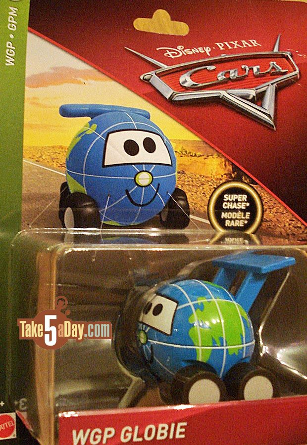 Mattel Disney Pixar Cars Next Super Chase Wgp Globie 2018 Or 2019