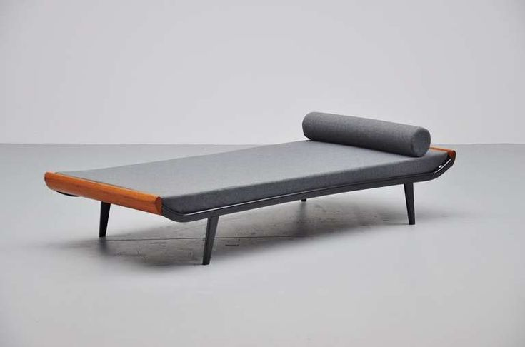 Dick Codermeijer Cleopatra Daybed with Mattress, Auping, 1954   From a unique collection of antique and modern day beds at http://www.1stdibs.com/furniture/seating/day-beds/