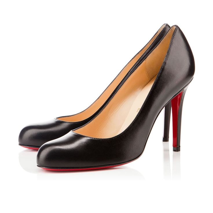 ... I'd wear them to every special occasion and to my own viewing/funeral  // Simple Pump Black Leather. Find this Pin and more on christian louboutin  ...