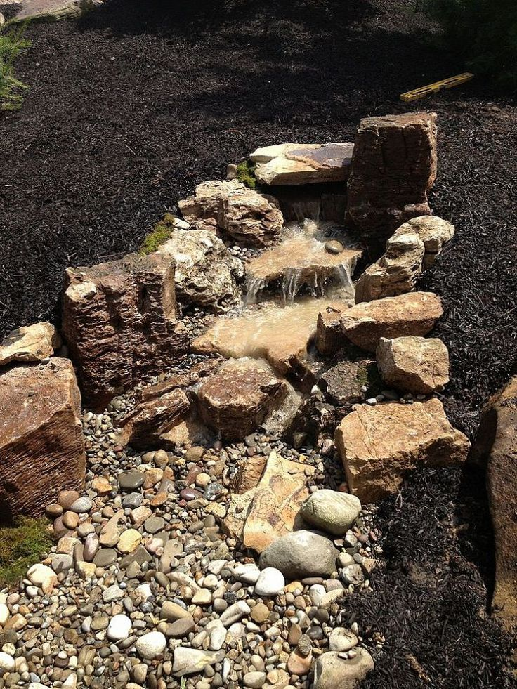 Pondless Waterfall Build Water Features Backyard Water