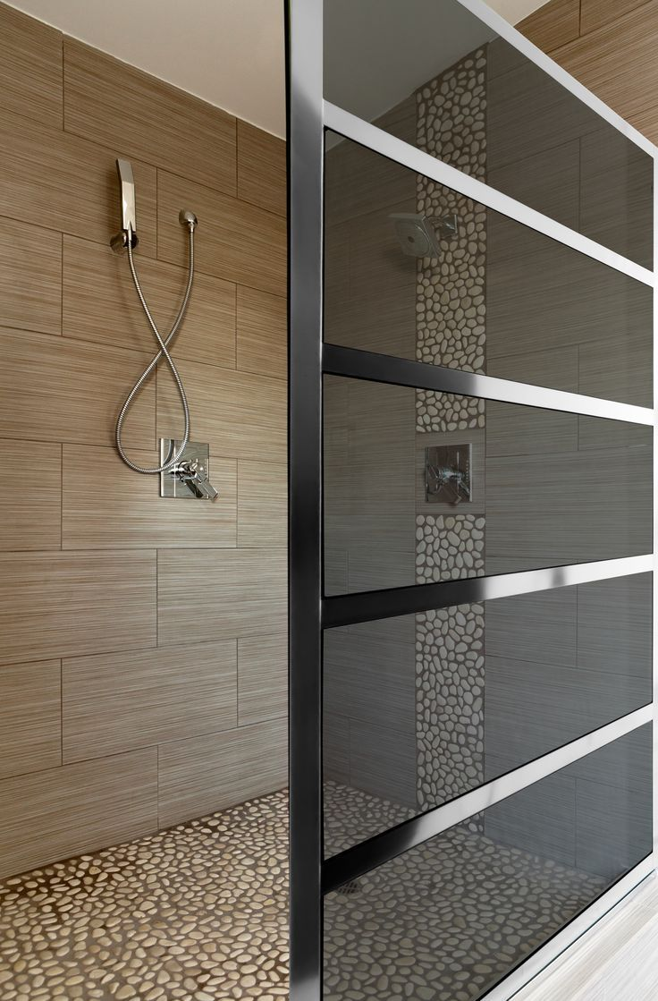 The Gridscape collection by Coastal Shower Doors has been widely embraced, not just by designers and those in the industry, but by individuals looking to add a little flair to their bathroom design. One key to the success of the design is the versatility.                                                          www.coastalshower...