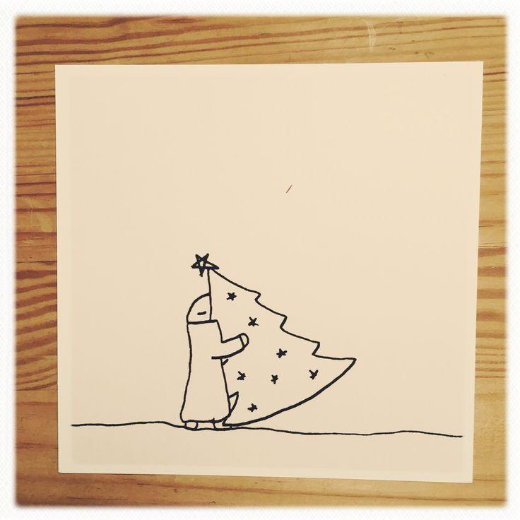 Christmas card - mr. Bloomberg Greeting card 30 dkr