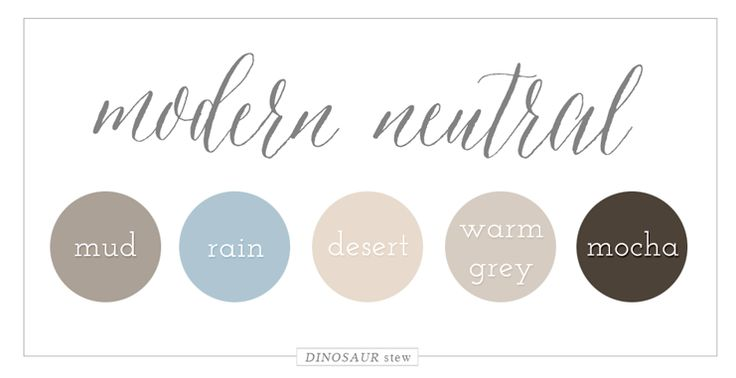 Neutral Color color palettes | neutral color palettes, modern and design color