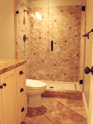 17 best images about jims shower ideas on pinterest for Small galley bathroom ideas
