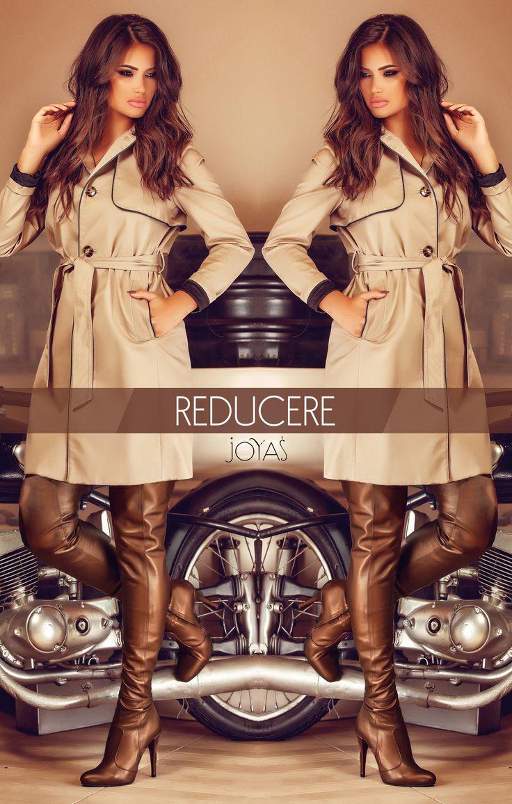 The bronze Eva over the knee boots are chic, feminine and extremely sensual @joyasromania