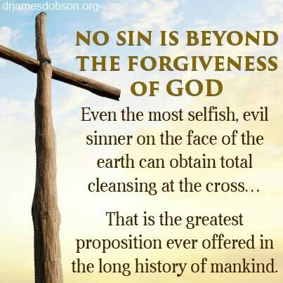 God's Forgiveness: What Does He Require From You?