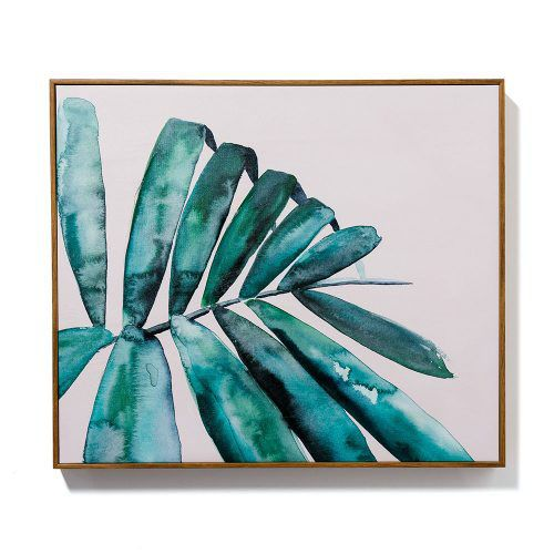 Mercer + Reid Painterly Palm Date Palm Print | Adairs