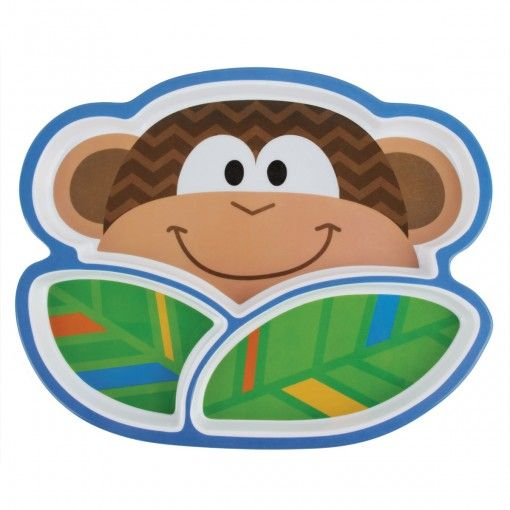 Monkey Melamine Tray Possum Pie Stephen Joseph Arts and Crafts, Gifts and Toys, Bags and Backpacks