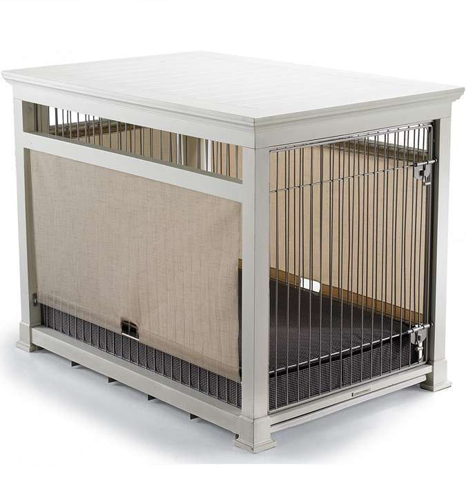 78 Ideas About Dog Crate Furniture On Pinterest Dog Crate Table Dog Crates And Kennel Ideas