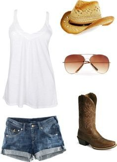 summer cowgirl outfits - Google Search