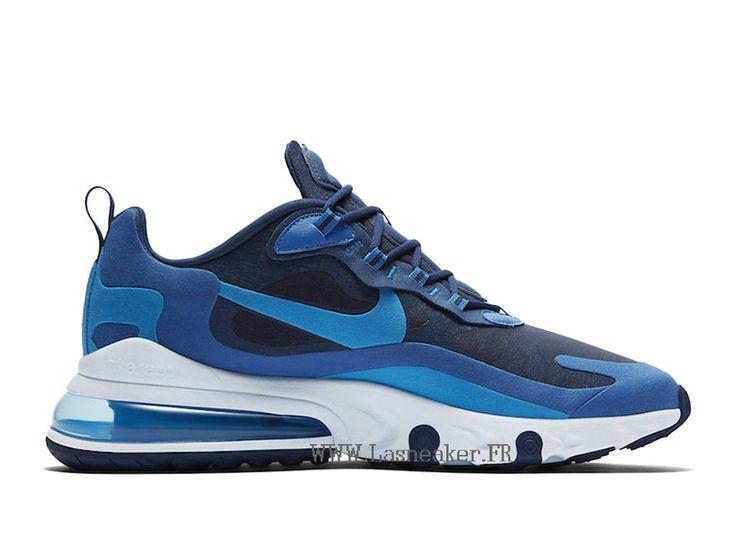 2019 Nike Air Max 270 React AO4971-400 Coussin Dair Chaussures ...
