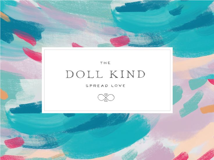 Doll Logo by Amber Asay #Design Popular #Dribbble #shots