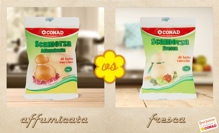 Preferisci il sapore deciso della scamorza affumicata o quello più delicato della scamorza fresca?