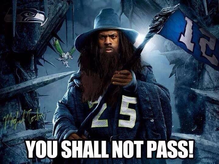 Richard Sherman!!! Super Bowl bound 2014!!!