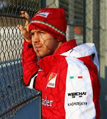 w/Sebastian Vettel @ the 2015 #F1 Barcelona Test