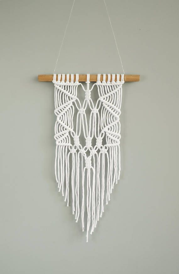 This Macrame Wall Hanging Was Designed To Add Some Good Vibes To Your Room And Warm Up A Space It Will Macrame Wall Hanging Small Wall Decor Textile Wall Art