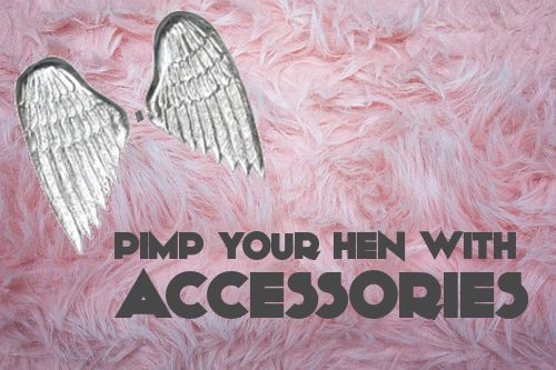 Fun & stylish hen party accessories for the wild hearted bride-to-be.