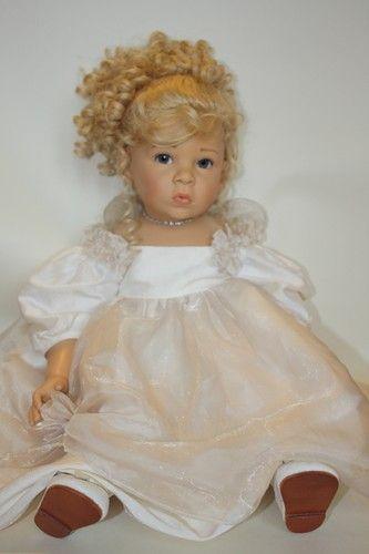 Рождественский ангел Nicola от Elisabeth Lindner для Gotz / Коллекционные куклы (винил) / Шопик. Продать купить куклу / Бэйбики. Куклы фото. Одежда для кукол