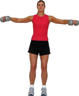 10 Great Shoulder Exercises: Lateral Raises