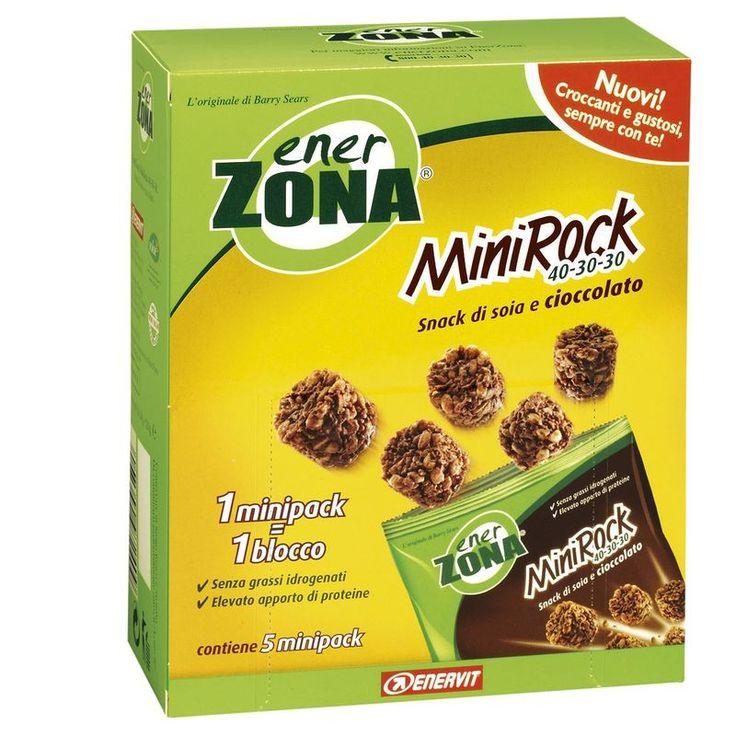 Integratori alimentari - Box Minirock Cacao 120g ENERZONA o Semprefarmacia