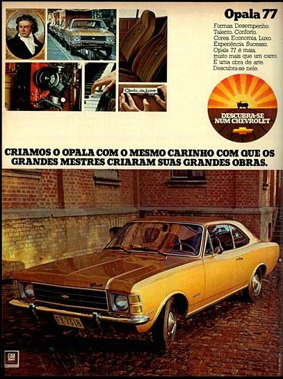 1977 Chevrolet Opala de Luxo - Brasil