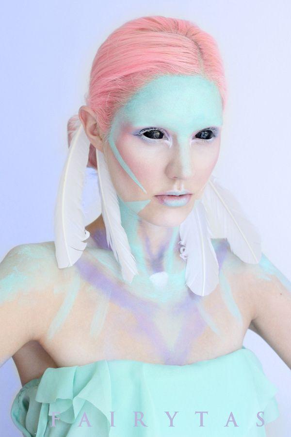 Pastel Alien by Jolien-Rosanne