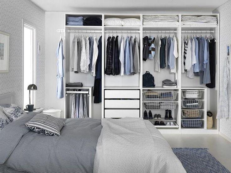 Più di 100 idee per realizzare una cabina armadio a casa