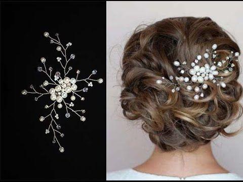 Hair Pins for Hairstyle Hair Vine Accessory Hair comb DIY - YouTube