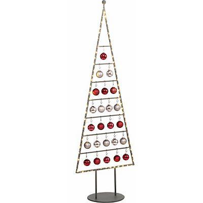 *Werbung* Weihnachtsbaum aus Metall in unterschiedlichen Größen, inkl. Glaskugeln und Micro-LED Lichterkette bestellen   BAUR #Weihnachtsbaum #Modern #Weihnachtsschmuck #Weihnachtsdeko #Lichterkette