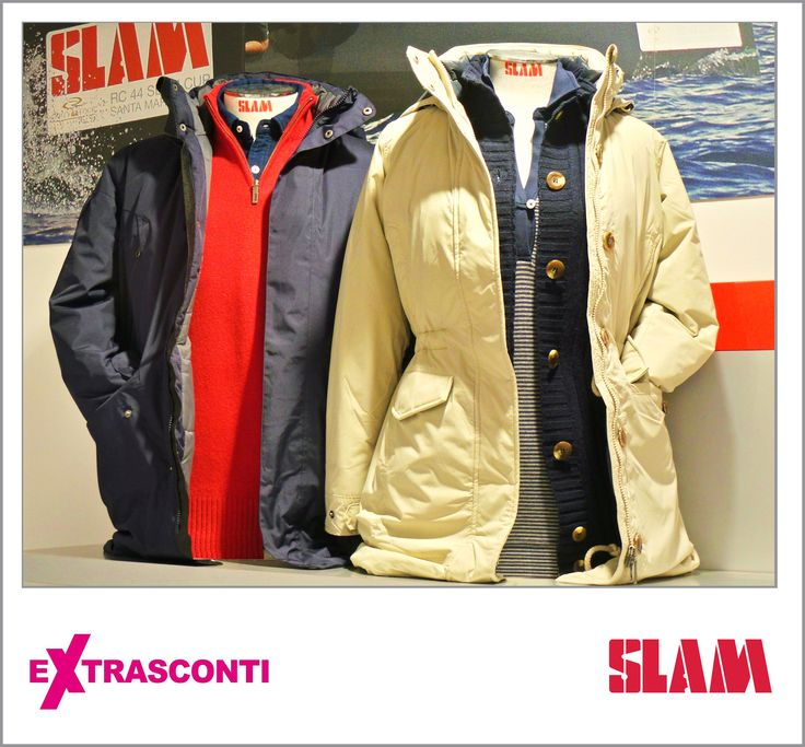 #Male #Jacket - #Slam #Original price: 220.00€ #Outlet #price: 143.00€ #EXTRASCONTI PRICE: 69.90€ #Jumper Original: 89.00€ Outlet: 57.50€ EXTRASCONTI: 40.00€ #Female jacket Original: 291.00€ Outlet: 185.00€ EXTRASCONTI: 89.90€ #Cardigan - Slam Original: 105.00€ Outlet: 68.00€ EXTRASCONTI: 34.00€ #Knit #polo - Slam Original: 54.00€ Outlet: 34.00€ EXTRASCONTI: 17.00€ #Available at Slam - #store number 34. http://www.palmanovaoutlet.it/it/outlet/negozi/slam