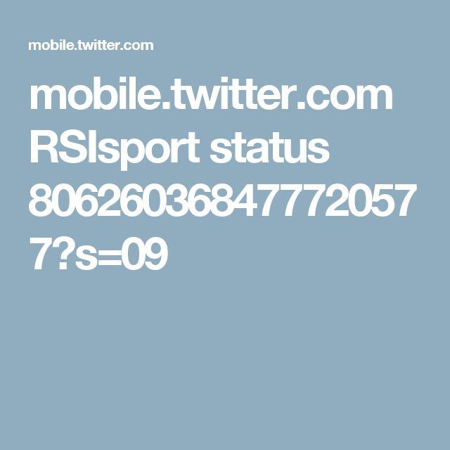 mobile.twitter.com RSIsport status 806260368477720577?s=09