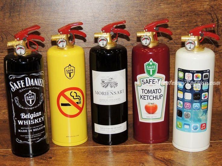 Extintores decorados - Varios modelos para elegir. Carga : 1 kg. de polvo ABC Fabricados según normativa europea http://www.mantelesyregalos.com/48-extintores-decorados