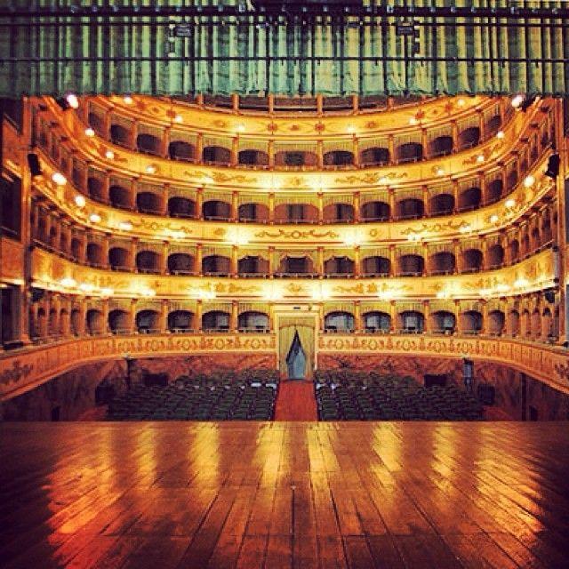Il Teatro Bonci di Cesena - Instagram by acesenaweb