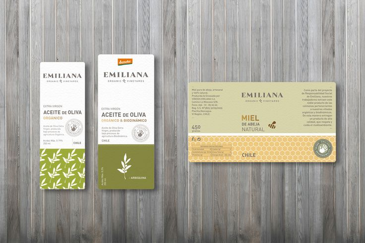 diseño packaging para productos rse | viña emiliana {2011}