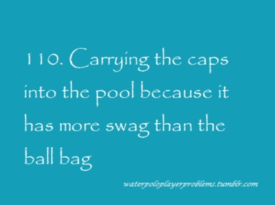 Hahaha so funny, but so true Water Polo Player Problems