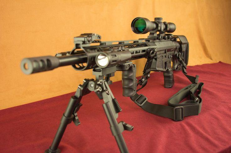 Aero Precision AR-10 .308/7.62NATO SuperKit Left Side Full Gun
