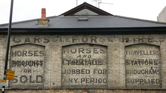 """Horses and Cars, by Justin Cormack 